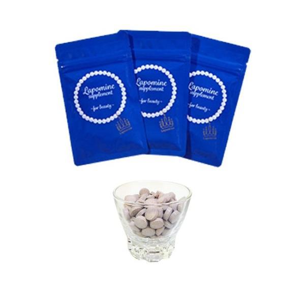 ラポマイン サプリメント 3袋(体 汗 脇 ワキ わき 臭い ケア エチケット 美容 エイジングケア サプリメント サプリ)|kireispot|02