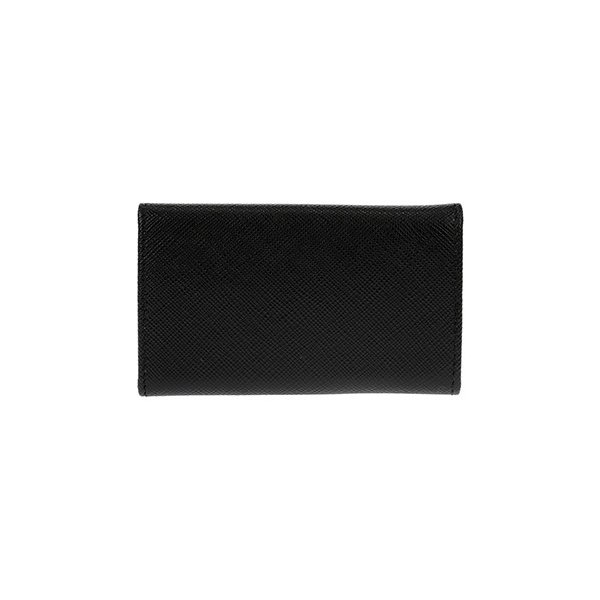 プラダ PRADA キーケース 「サラサラ」手触り サフィアーノカーフ SAFFIANO METAL-1PG222-ブラック/BLACK|kireiyasan|04