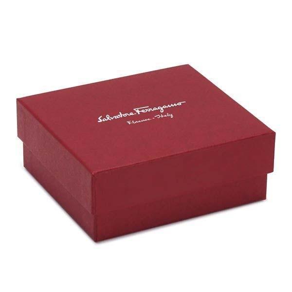 フェラガモ FERRAGAMO ファスナー式二つ折り財布 ガンチーニロゴ GANCIO CITY 22D201-688418-ダークパープル/MIRTO|kireiyasan|05