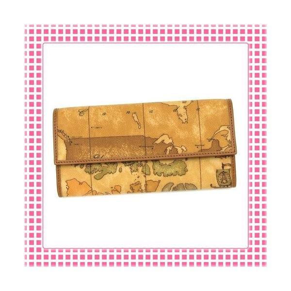 プリマクラッセ PRIMACLASSE 二つ折り長財布 カラバリ3色 地図柄GEOCLASSIC-CW018-キャメルブラウン kireiyasan