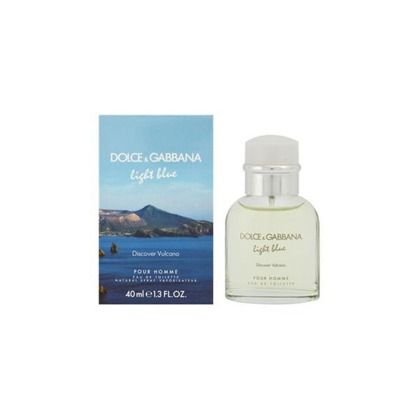 ドルチェ&ガッバーナ D&G 香水 ドルガバ ライトブルー ディスカバー ヴルカーノ-EDT-40ml|kireiyasan