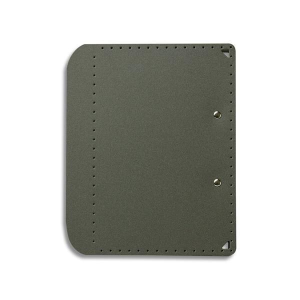 メール便発送 プラス A5サイズにおりたためる A4クリップボード+ Dグレー FL-502CP|kireshop
