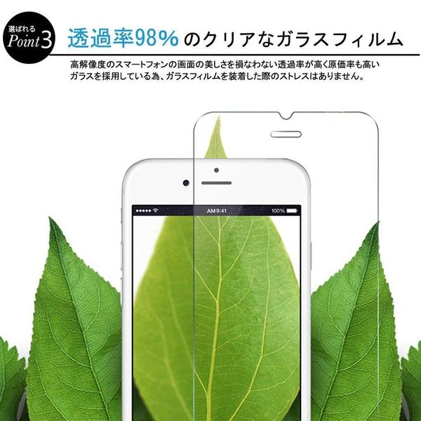 GMUMU Samsung Galaxy S8 ガラスフィルム Galaxy S8 フィルム らくらくスマートフォン S8 保護フィルム ギ|kirincompany|07