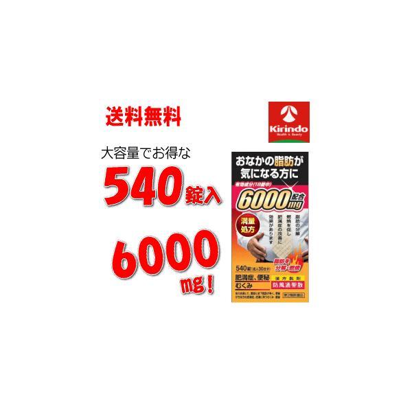 第2類医薬品 北日本製薬防風通聖散エキス6000540錠入30日分×1個 満量処方肥満むくみ便秘 満量処方6000mg