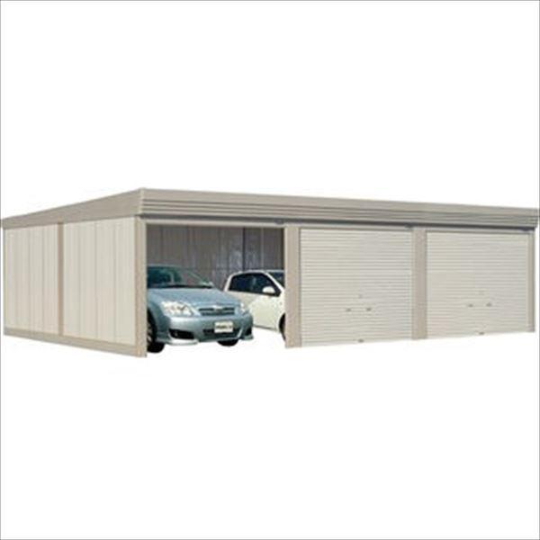 タクボガレージ カールフォーマ CS-9360 一般型 標準型 3台用 『シャッター車庫 ガレージ』 ムーンホワイト