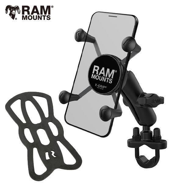430 g Ram Mount/® RAM-333-224-1U Kit de Montaje Kit de sujecci/ón