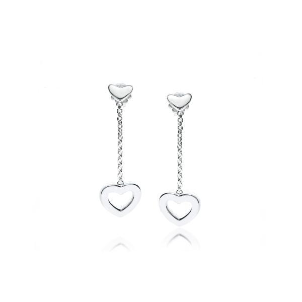 TIFFANY&CO. (ティファニー)ハートリンクドロップピアス 並行輸入品 スターリングシルバー