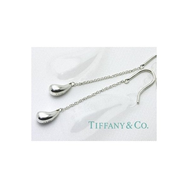 TIFFANY&CO. (ティファニー)エルサ・ペレッティ  ティアドロップ ドロップピアス  並行輸入品 スターリングシルバー