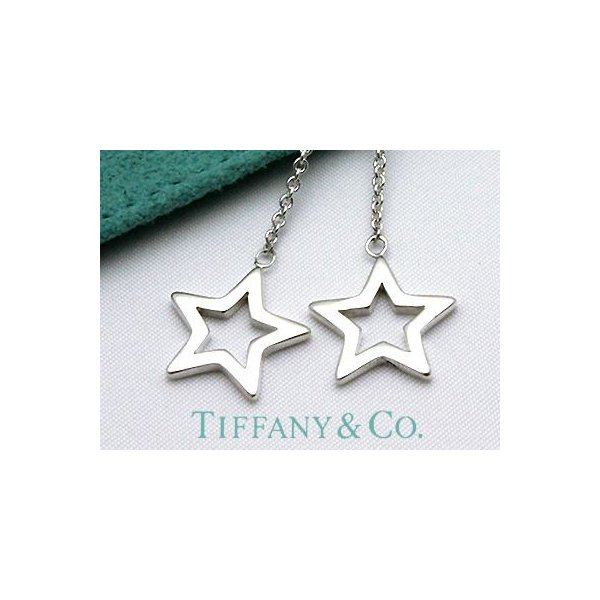 TIFFANY&CO. (ティファニー)スターリンクドロップピアス  並行輸入品 スターリングシルバー