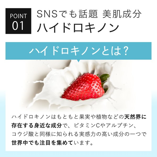 クリーム 安定型 ハイドロキノン 5%配合 ハイドロ クリーム SHQ-5 10g 日本製 メール便送料無料 kisocare 04