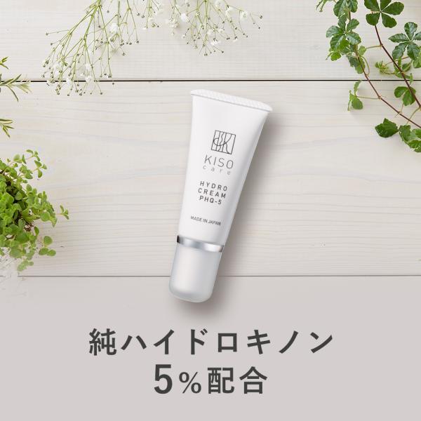 クリーム 純ハイドロキノン 5% 配合 クリーム キソ ハイドロクリームPHQ-5 20g hydroquinone  日本製 メール便送料無料