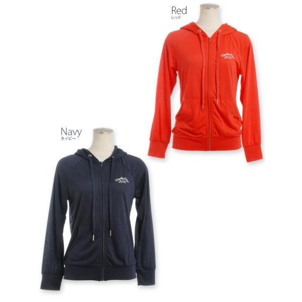 薄手カラーパーカー/ゴルフ ウェア レディース 女性用|kissonthegreen|04