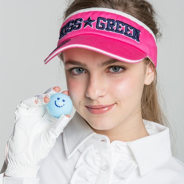 KIRA★キスオンザグリーンコラボ オリジナル アクアスマイルボール(4個入り) /ゴルフ ウェア レディース 女性用|kissonthegreen|05