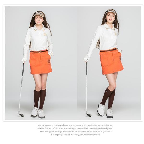 細ベルト/ゴルフ ウェア レディース 女性用|kissonthegreen|05