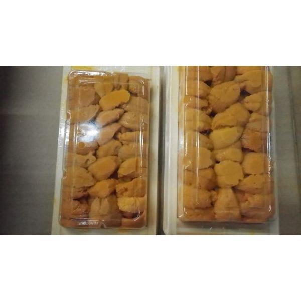 高級品北海道産バフンウニ折ウニ200g100g×2箱