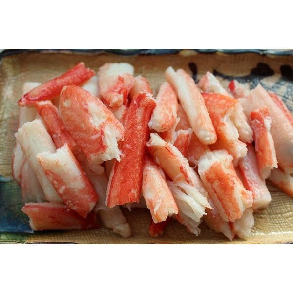 〔訳あり〕ボイルズワイガニ棒肉1kg〔E〕北港直販☆かに・蟹・カニ・ずわいがに☆訳アリ・わけあり|kitachokuhan
