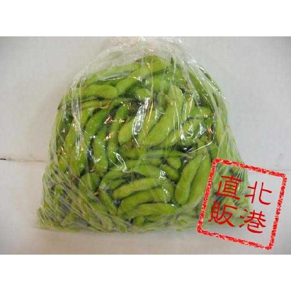 〔予約販売〕北海道産枝豆(えだまめ)1kg〔C〕北港直販☆豆・マメ|kitachokuhan|03