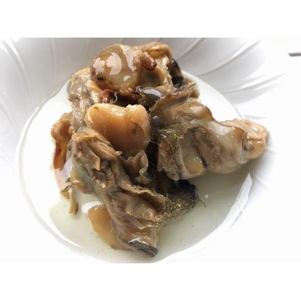 北海道知内産のかきオイル漬50g(瓶詰)〔E〕北港直販☆牡蠣・カキ・貝・かい|kitachokuhan