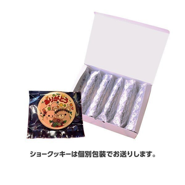 メッセージが伝わるプリントクッキー お世話になりました(爽やかリーマン坂口) 退職 お礼 お菓子・プチギフト・ショークッキー|kitahama-sweets|02