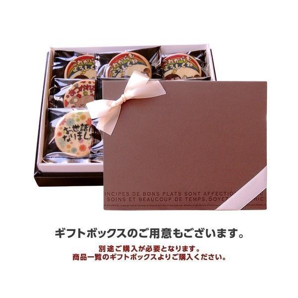 メッセージが伝わるプリントクッキー お世話になりました(爽やかリーマン坂口) 退職 お礼 お菓子・プチギフト・ショークッキー|kitahama-sweets|03