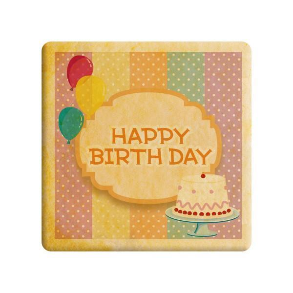 【HAPPY BIRTHDAY】誕生日をお祝いするメッセージクッキー《誕生日・プチギフト》【プリントクッキー】・ショークッキー