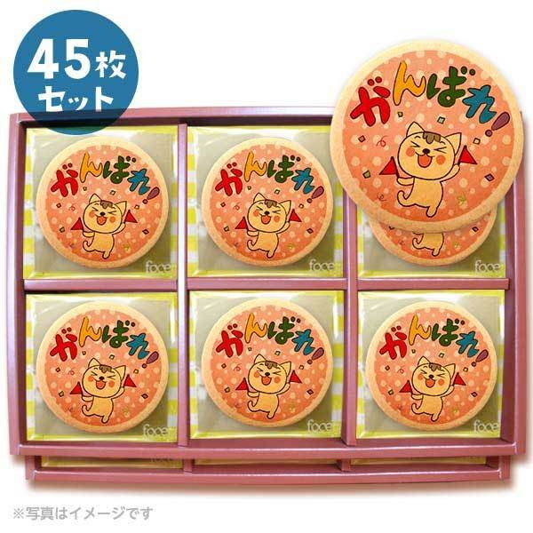 メッセージクッキーがんばれ! 応援 プチギフト 45枚セット