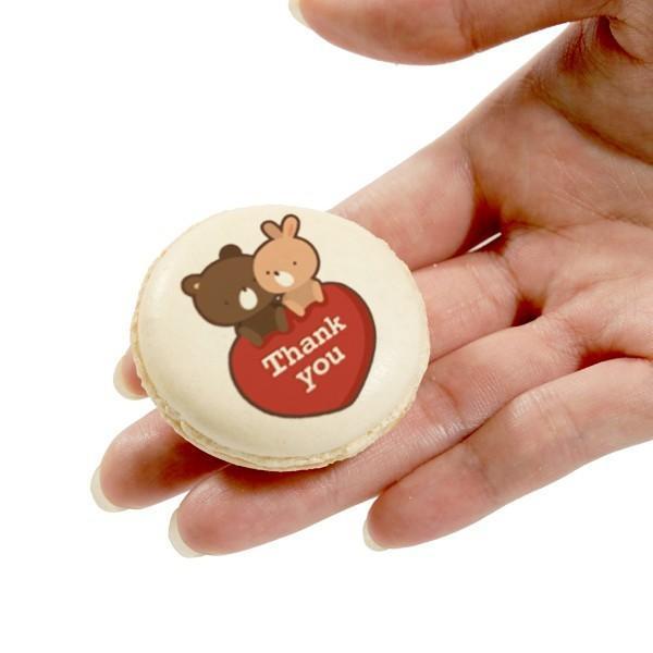 誕生日 スイーツギフト HappyBirthDay!!メッセージマカロン 5個セット お祝い プチギフト インスタ映え|kitahama-sweets|03