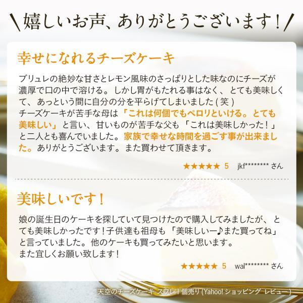 人気のお取り寄せ 天空のチーズケーキ ランキング上位の濃厚スフレチーズケーキ お菓子 送料無料|kitahama-sweets|04