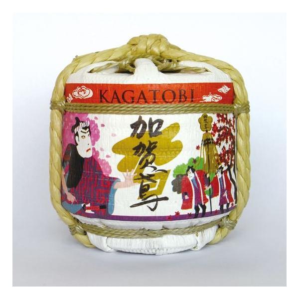 日本酒 極寒純米 加賀鳶 辛口 豆樽300ml