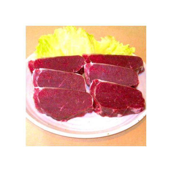 ヘルシーな北海道鹿肉 セ・ロースステーキ(450g)