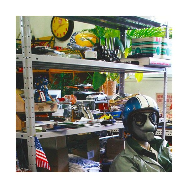 スチールラック スチール棚 業務用 収納 KT-4 幅180×奥行45×高さ180cm 5段 ホワイトグレー|kitajimasteel|04