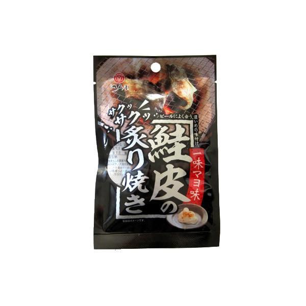 江戸屋 鮭皮の炙り焼き 一味マヨ味11g|kitanohako|02