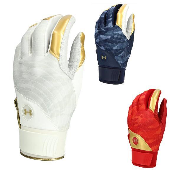 アンダーアーマー 一般用バッティング手袋 両手用 UAアンディナイアブル バッティンググロー 1354263 メール便で送料無料 大人