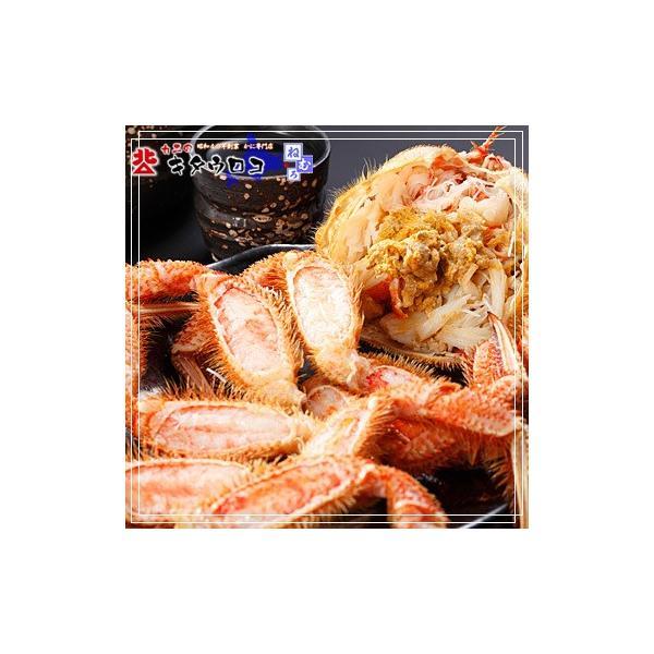 かに 専門店のカニ 毛ガニ 北海道産 超特大サイズ 1.2-1.4kg前後 1尾入 毛がに 毛蟹|kitauroko|03