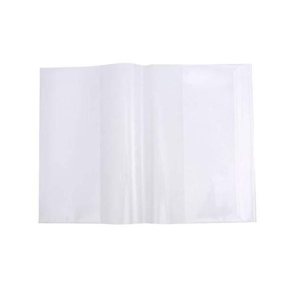 NUOLUX ブックカバー 教科書カバー 透明 カバーフィルム 本 保護シール 5枚セット 約16K