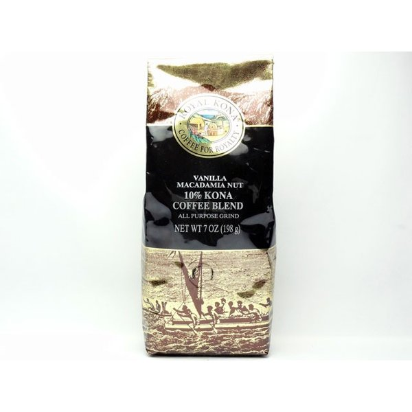 ロイヤルコナコーヒー バニラマカダミアナッツ 輸入食品