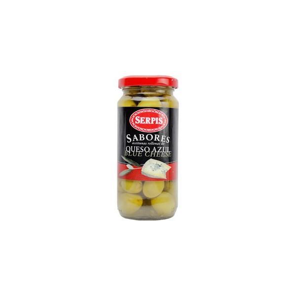 セルピス サポレス スタッフドオリーブ ブルーチーズ詰 輸入食品