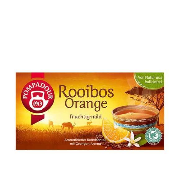 ポンパドール ルイボスティー オレンジ 20TB 輸入食品