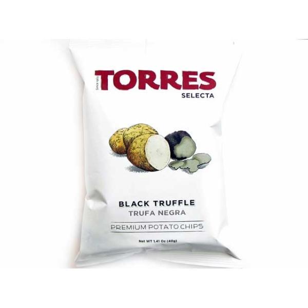 トーレス セレクタ 黒トリュフポテトチップス トリフ チップス 輸入食品