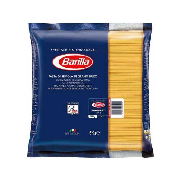 バリラ スパゲッティー No.5(1.78mm) 5kg業務用 輸入食品
