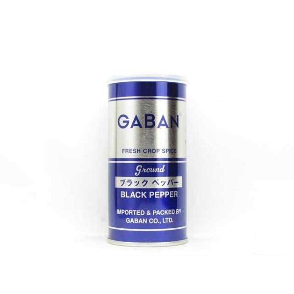 ギャバン ブラックペッパーグラウンド 100g缶 輸入食品