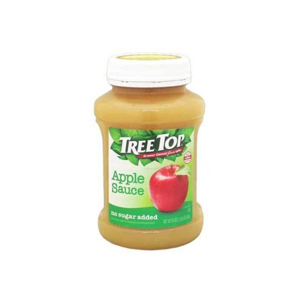 トゥリートップ アップルソース アンスイート(砂糖不使用) 輸入食品