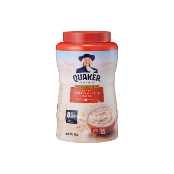 クエーカー インスタントオートミール オリジナル 1kg 朝食  輸入食品