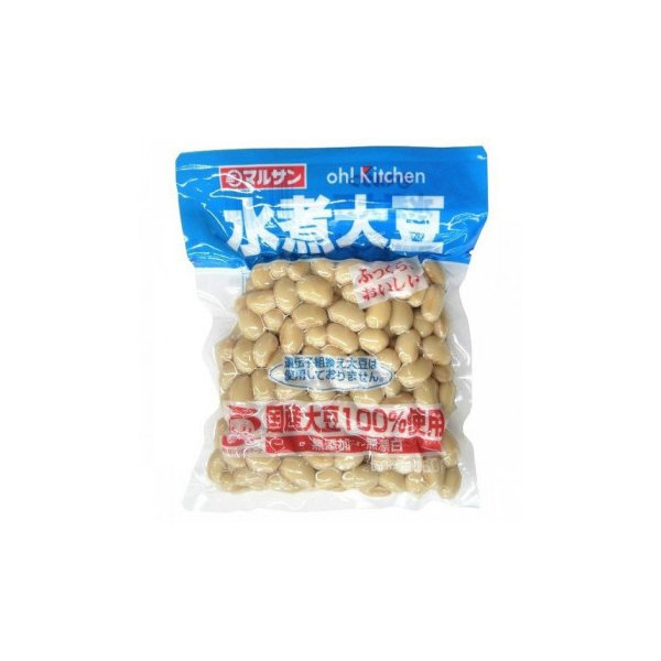 マルサン 国産 水煮大豆 150g×15袋 4149