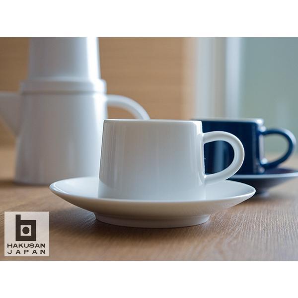 白山陶器 M型 カップ&ソーサー 【 HAKUSAN 和食器 森正洋デザイン 】|kitchen