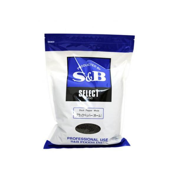 S&B ( エスビー食品 )ブラックペッパーホール 1kg