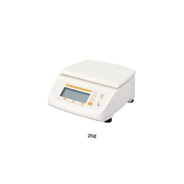 寺岡 防水型デジタル上皿はかり テンポ (DS-500N) 2kg <2kg>
