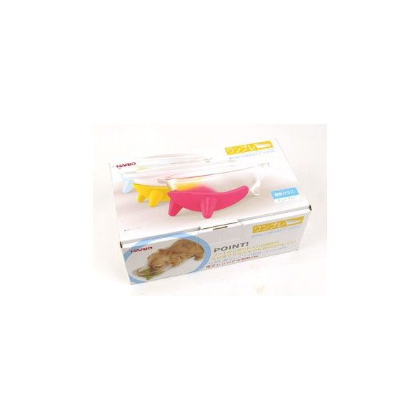 犬用食器 ワンコプレート 選べる4色 実用容量 150ml HARIO ハリオ 陶製|kitchengoods-bell|05