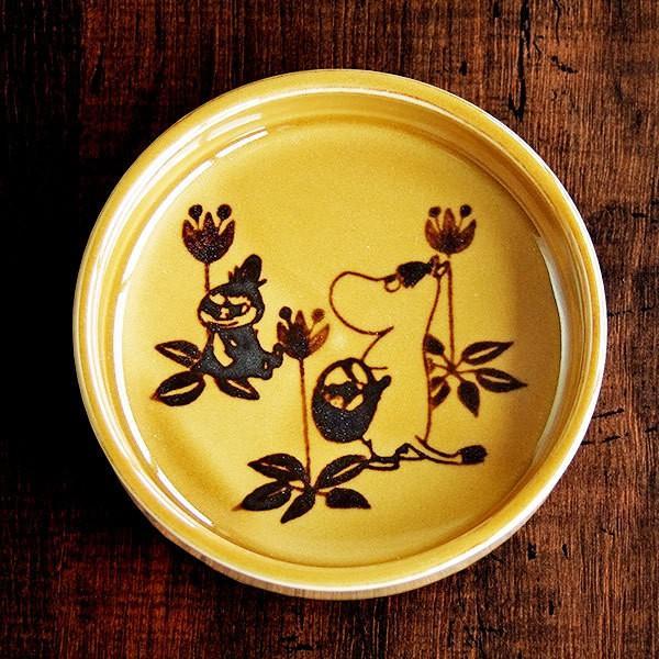 和食器 ムーミン 8.5 プレート ブラウン MOOMIN 美濃焼 小皿 MM192-333