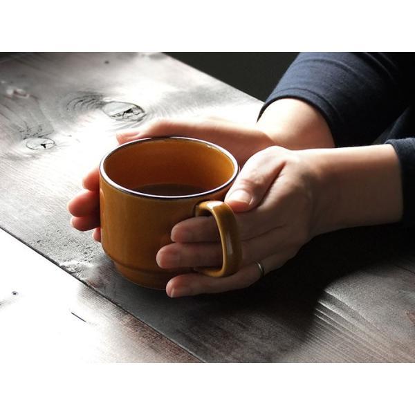 マグカップ マグ soragama 宙窯 スタッキングマグ スタッキング 美濃焼 カフェ食器 北欧 おしゃれ みのさらら|kitchengoods-bell|07